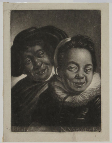 [Smiling man and woman.]