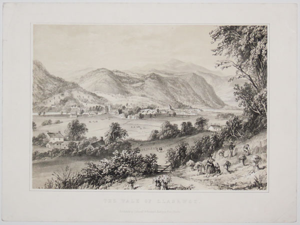 The Vale of Llanrwst.