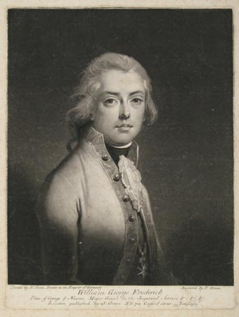 [Netherlands] William George Frederick Prince of Orange & Nassau, Major Gene.l in the Imperial Service &.&.&.