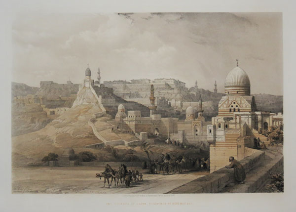 The Citadel of Cairo, Residence of Mehemet Ali.
