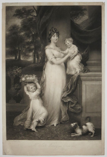 Mrs Scott Waring and Children.