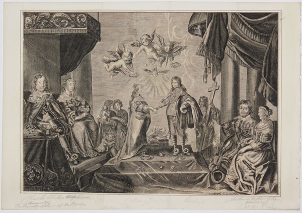 [The Marriage of Charles I and Henrietta Maria.]