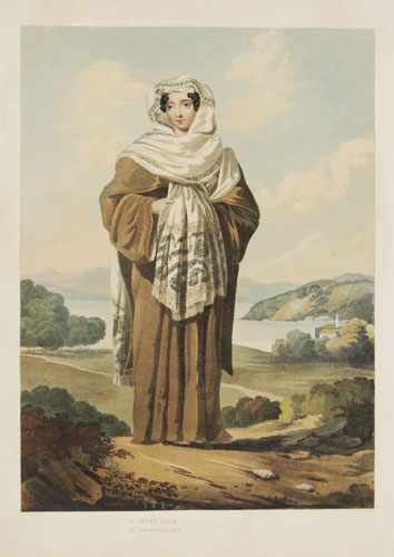 A Greek Lady in Constantinople [ink mss.]