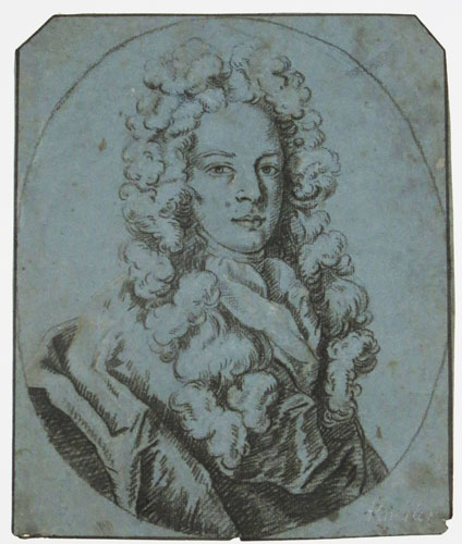 [Portrait of a young man in wig.]