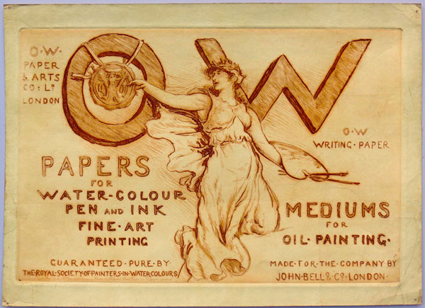OW Papers For Water-Colour [/] Pen and Ink [/] Fine Art Printing.