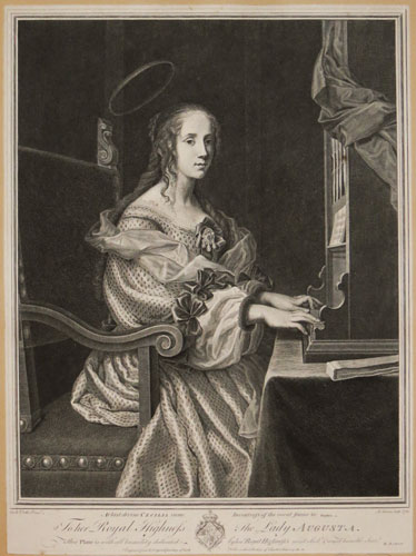At Last Divine Cecilia Came, Inventress of the Vocal Frame &c. Dryden.