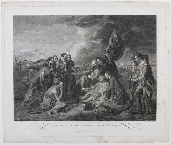 The Death of General Wolfe at Quebec.