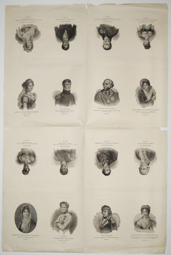 [Portraits of Napoleon and his circle.]