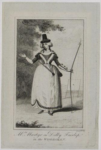 Mrs. Martyr as Dolly Fairlop in the Woodman.