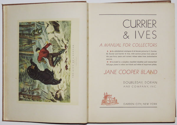 Currier & Ives: A Manuel for Collectors.