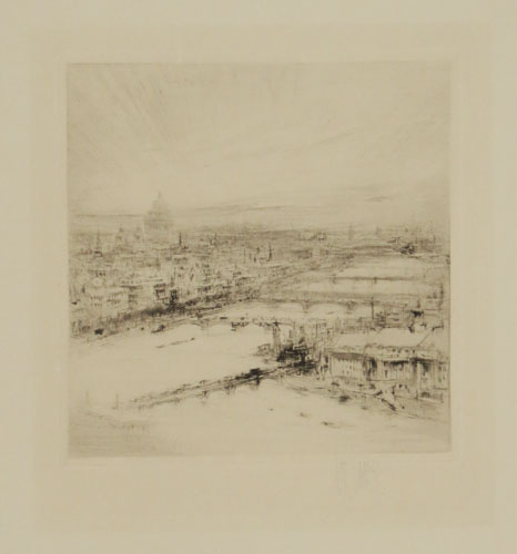 [The Thames and City of London from Westminster]