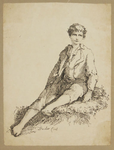 [Young Boy Seated 1803]
