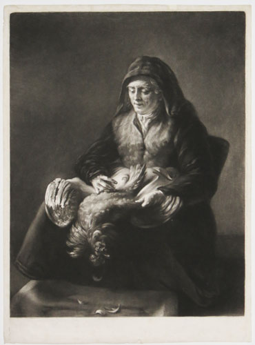 [Rembrandt's Mother.]