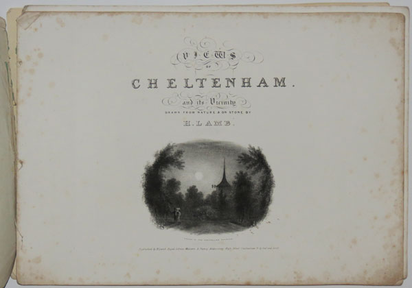Sketches of Cheltenham, and its Vicinity.