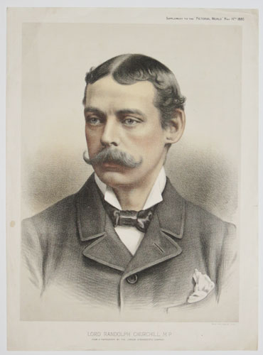 Lord Randolph Churchill. M.P.
