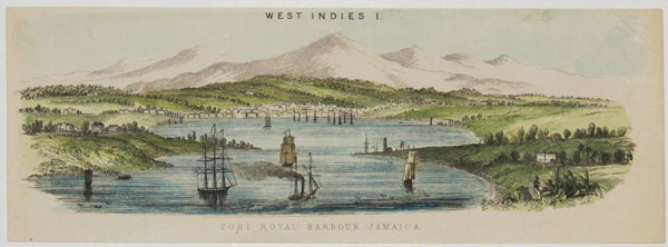 West Indies I. Port Royal Harbour Jamaica.