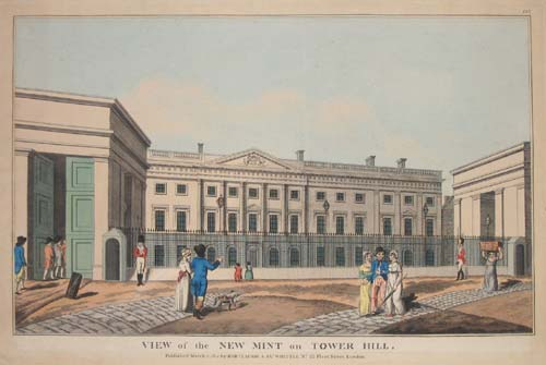 View of the New Mint on Tower Hill.