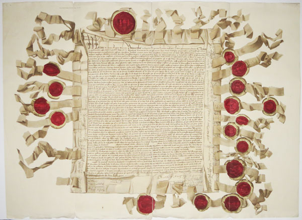 [Act of the Parliament of Scotland making James, Earl of Arran, regent for Mary, Queen of Scots, 1542.]