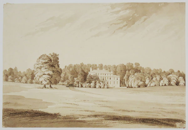 [Unidentified British Landscape with large Country House.]