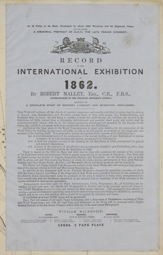 Record of the International Exhibition of 1862.