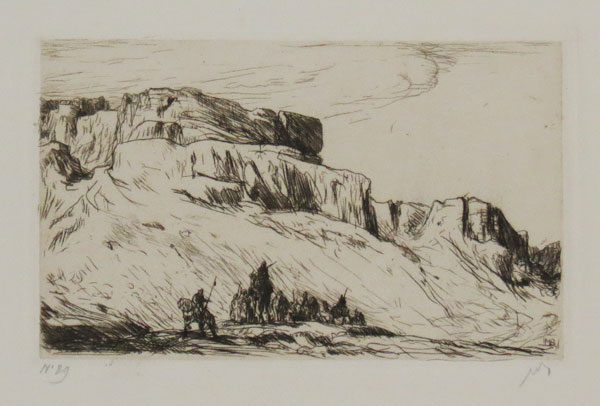[Indian Mountains.] [In pencil beneath image.]