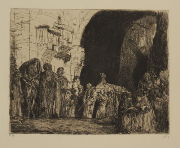 [Funeral at Cairo.][In pencil beneath image.]
