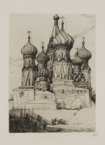 [Church in Moscow.][In pencil beneath image.]