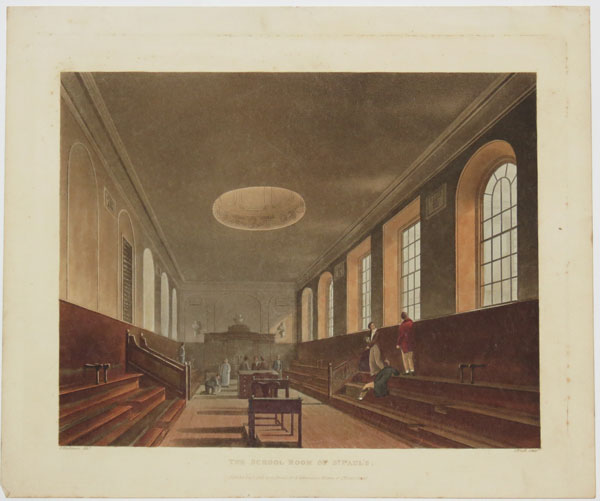 The School Room of St Paul's.
