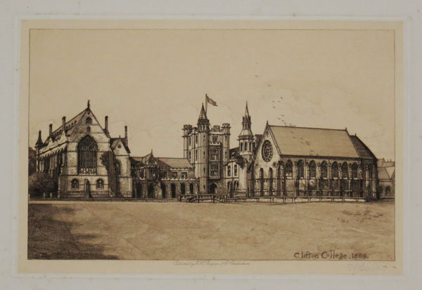 Clifton College. 1898.