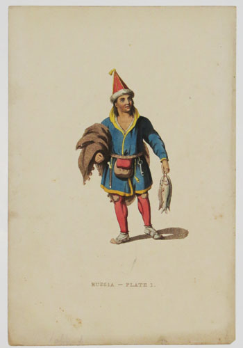 Russia - Plate 1. [A Laplander.]