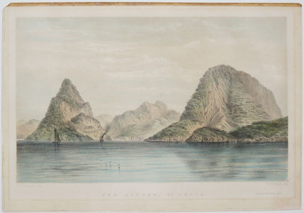 The Pitons, S.t. Lucia.