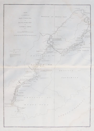 Sketch of A Journey from Hang-Tchoo-Foo To Quang-Tchoo-Foo or Canton in China. by J. Barrow.
