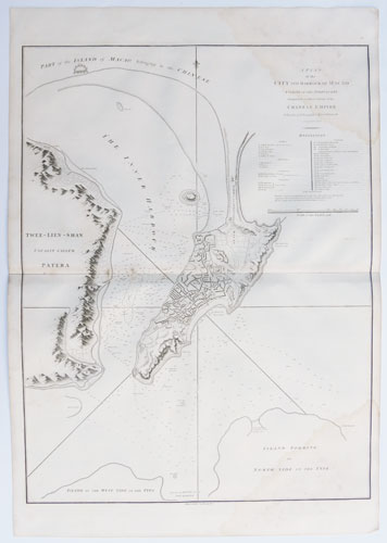 A Plan of the City and Harbour of Macao