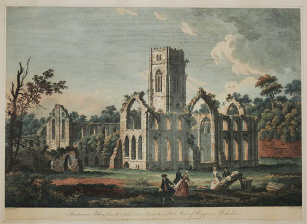 Fountain's Abbey, from the South East;