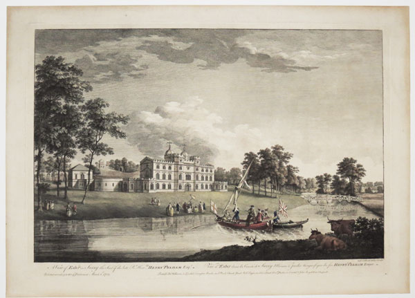 A View of Esher in Surry the seat of the late R.t Hon.ble Henry Pelham Esq.r.