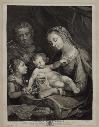 The Holy Family.