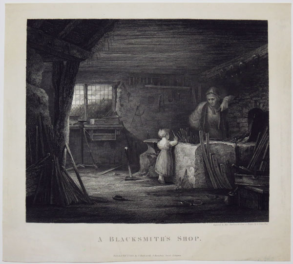 A Blacksmith's Shop.