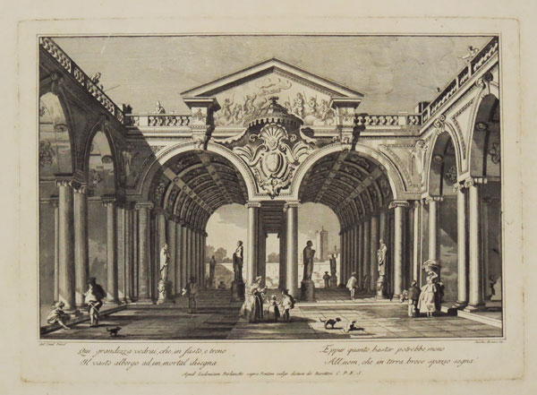 [Architectural view, probably in Venice.]