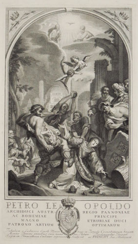 [The Martyrdom of St Stephen.]