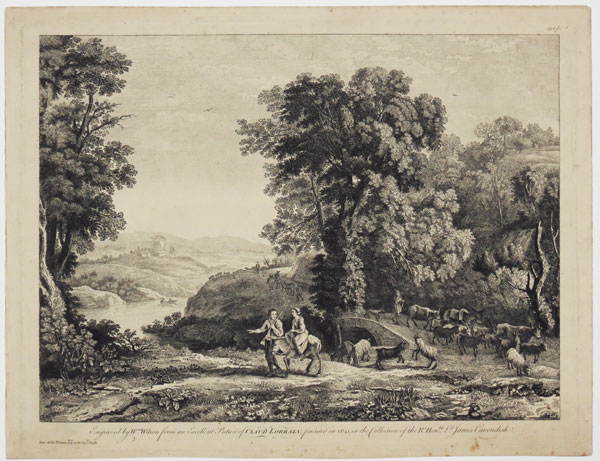 [Landscape with a Herd of Goats]
