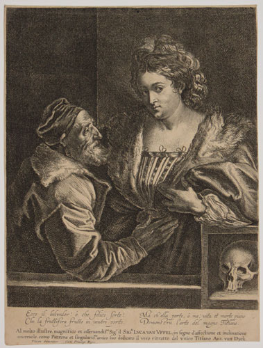 [Titian and his Mistress]