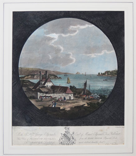 [A view of Plymouth sound, taken from the Rope House, Plymouth Dock]