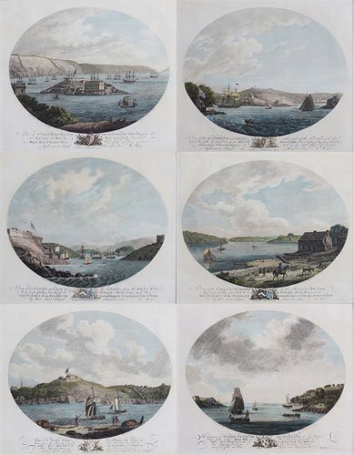 [Set of six views in Plymouth.]