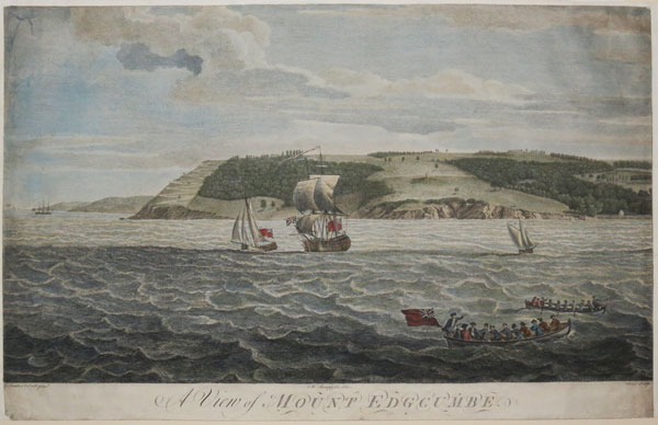 A View of Mount Edgcumbe.