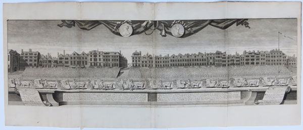 The View of the Charity Children in the Strand, upon the VII of July, MDCCXIII,