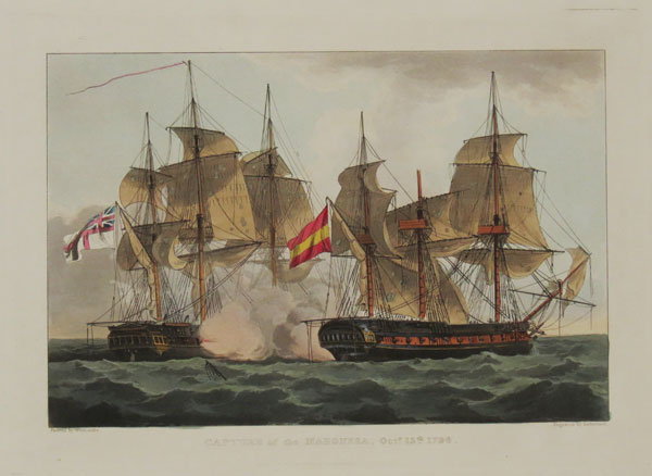Capture of the Mahonesa, Oct.r. 13.th.1796.
