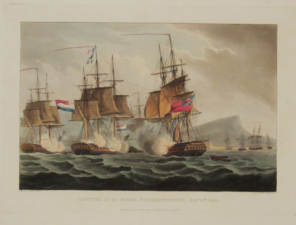 Capture of the Maria Riggersbergen, Oct.r. 18.th. 1806.