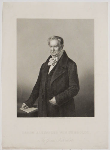 Baron Alexander von Humboldt, The Great Naturalist.