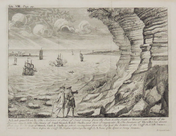 [The geology of Harwich Harbour.]