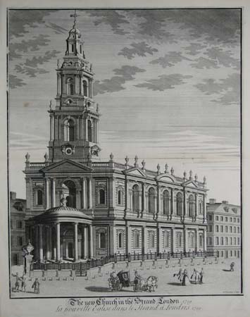 The New Church in the Strand London.